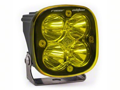 Baja Designs Squadron Racer Edition Amber LED Light - Spot Beam