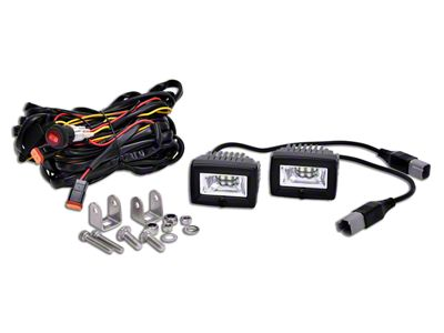 KC HiLiTES C-Series C2 Backup Flood Lights - Pair (02-19 RAM 1500)