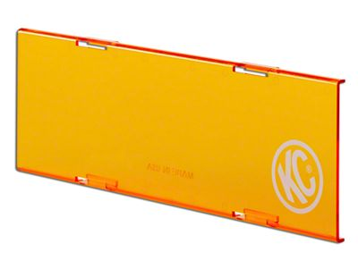 KC HiLiTES 10 in. C-Series Cover - Orange