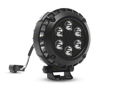 KC HiLiTES 4 in. LZR Series LED Round Light - Spot Beam - Pair
