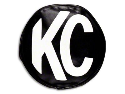 KC HiLiTES 5 in. Apollo/Slimlite Cover - Black