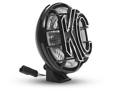 KC HiLiTES 6 in. Apollo Pro Halogen Light - Spread Beam - Single