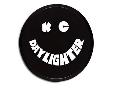 KC HiLiTES 6 in. Daylighter/Slimlite Plastic Cover - Black