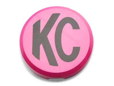 KC HiLiTES 6 in. Daylighter/Slimlite Cover - Pink