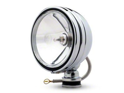 KC HiLiTES 6 in. Stainless Steel Daylighter Round Halogen Lights - Spot Beam