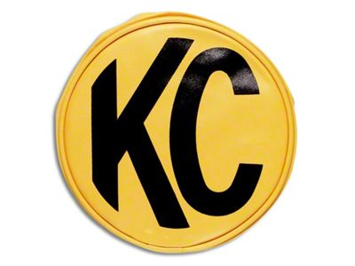 KC HiLiTES 8 in. Soft Vinyl Cover for Round Lights - Yellow