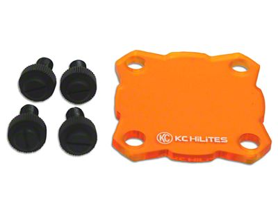 KC HiLiTES Amber Light Shield for KC Flex