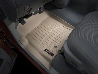 Weathertech DigitalFit Front Floor Liners - Tan (02-08 RAM 1500 w/ Automatic Transmission)