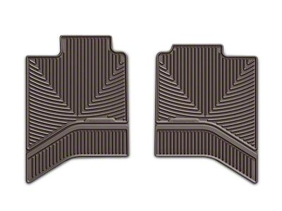 Weathertech All Weather Rear Floor Mats - Cocoa (02-18 RAM 1500 Quad Cab, Crew Cab)