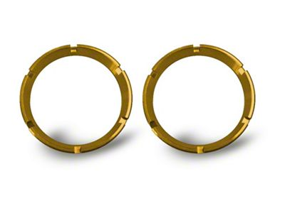 KC HiLiTES Gold Bezel Ring for Flex LED