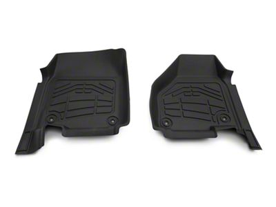 Wade Sure-Fit Front Floor Mats - Black (09-18 RAM 1500)