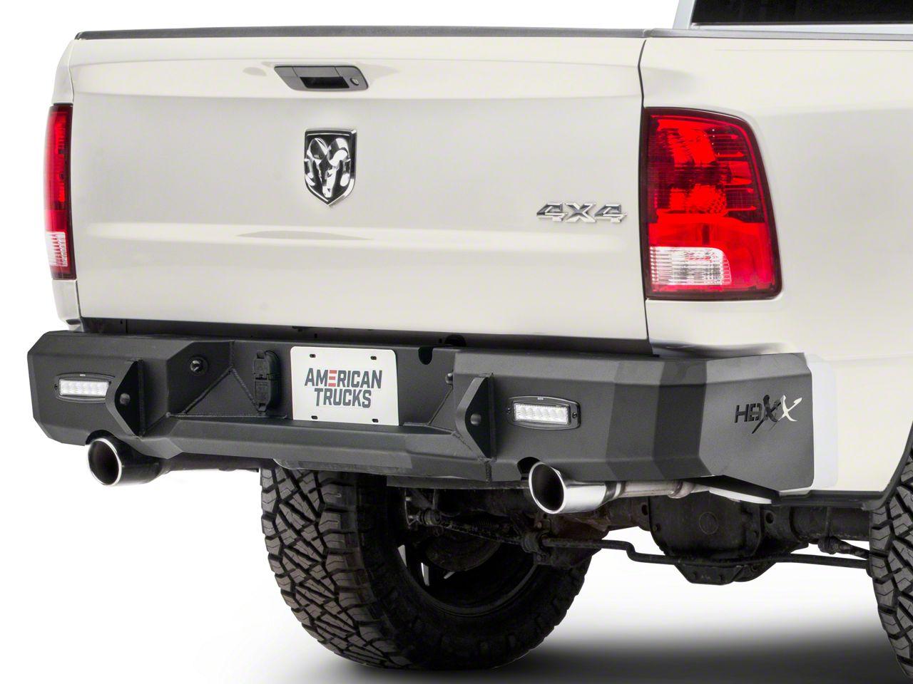 Westin HDX Rear Bumper (09-18 RAM 1500 w/ Factory Dual Exhaust)