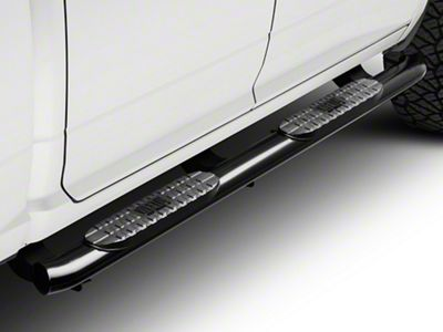 Westin Pro Traxx 4 in. Oval Side Step Bars - Black (09-18 RAM 1500 Quad Cab, Crew Cab)