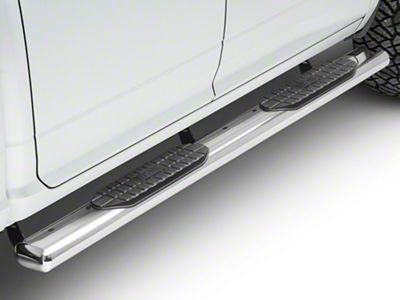 Westin Pro Traxx 6 in. Oval Side Step Bars - Stainless Steel (09-18 RAM 1500 Quad Cab, Crew Cab)