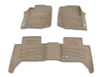 Wade Sure-Fit Front Floor Mats - Tan (02-08 4WD RAM 1500)
