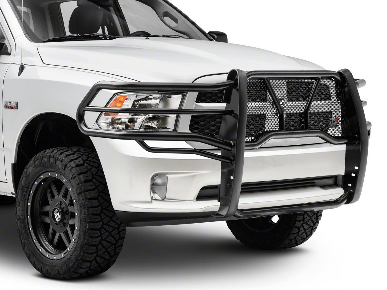 Westin HDX Winch Mount Grille Guard - Black (09-18 RAM 1500, Excluding Express, Sport & Rebel)