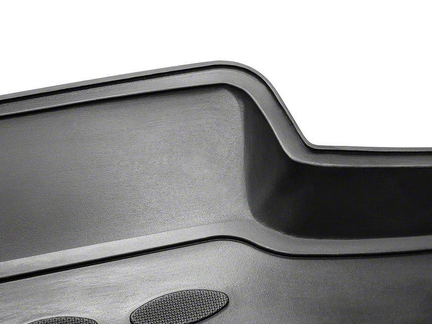 Westin Profile Front & Rear Floor Mats - Black (09-12 RAM 1500 Crew Cab)