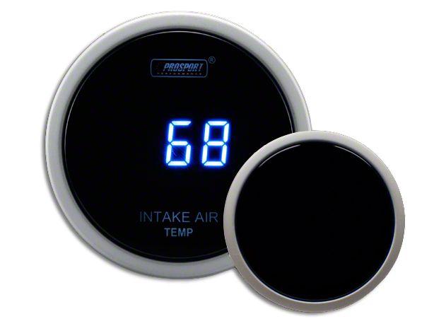 Prosport Digital Intake Temperature Gauge - Electrical - Blue (02-19 RAM 1500)