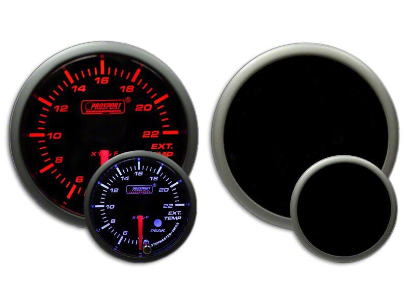 Prosport Dual Color EGT Premium Boost Gauge - Amber/White (02-19 RAM 1500)
