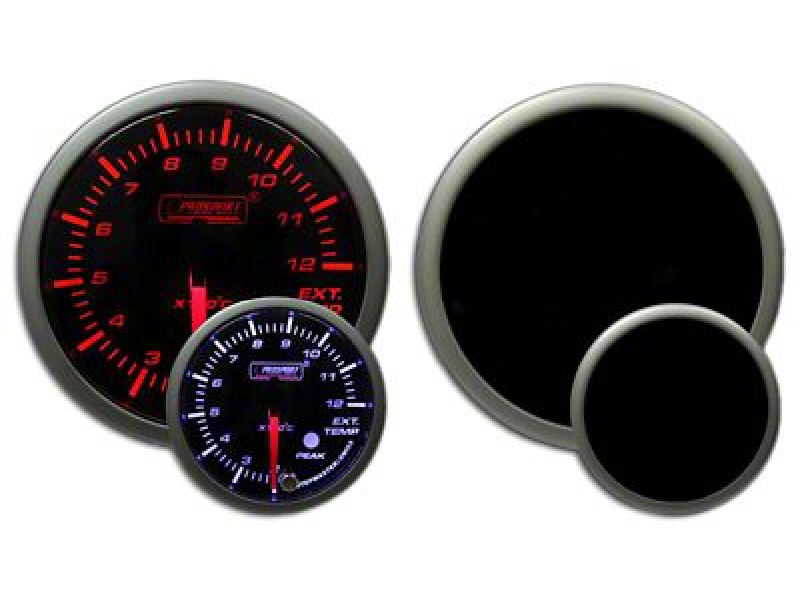 Prosport Dual Color EGT Premium Metric Boost Gauge - Amber/White (02-19 RAM 1500)