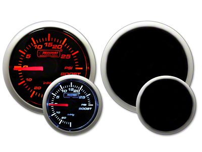 Prosport Dual Color 30 PSI Boost Gauge - Electrical - Amber/White (02-19 RAM 1500)