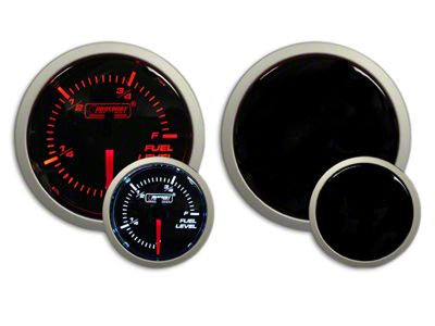 Prosport Dual Color Fuel Level Gauge - Electrical - Amber/White (02-19 RAM 1500)