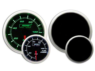 Prosport Dual Color Fuel Pressure Gauge - Electrical - Green/White (02-19 RAM 1500)