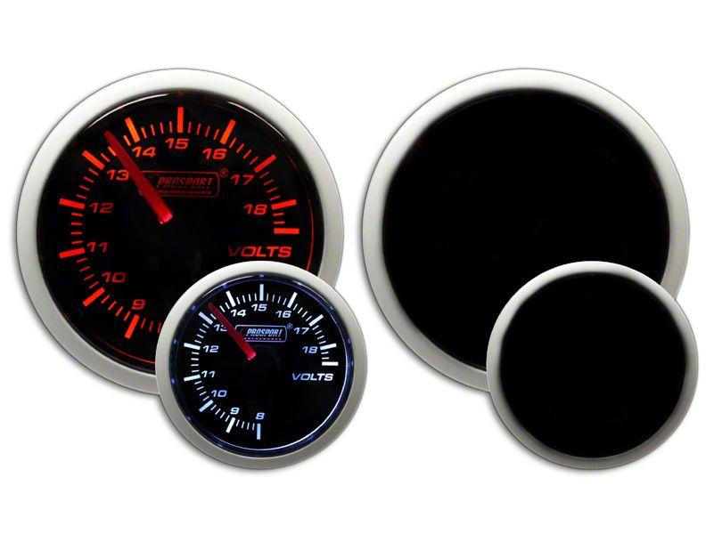 Prosport Dual Color Volt Gauge - Electrical - Amber/White (02-19 RAM 1500)