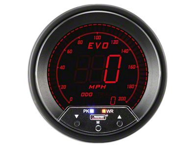 Prosport Quad Color Evo Speedometer - 85mm (02-19 RAM 1500)
