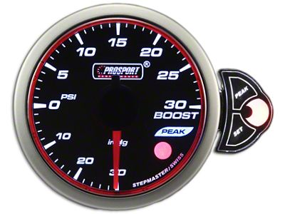 Prosport Halo 30 PSI Boost Gauge - Electrical (02-19 RAM 1500)