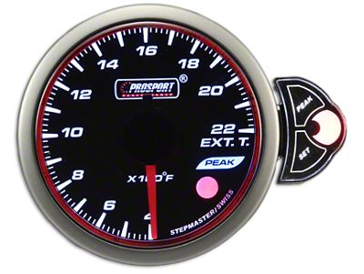 Prosport Halo Exhaust Gas Temperature Gauge (02-19 RAM 1500)