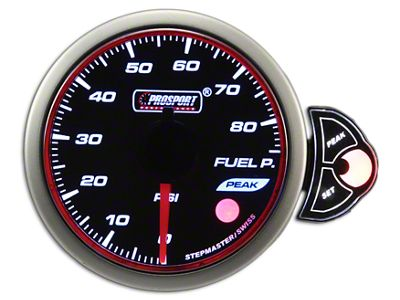 Prosport Halo Oil Pressure Gauge - Electrical (02-19 RAM 1500)