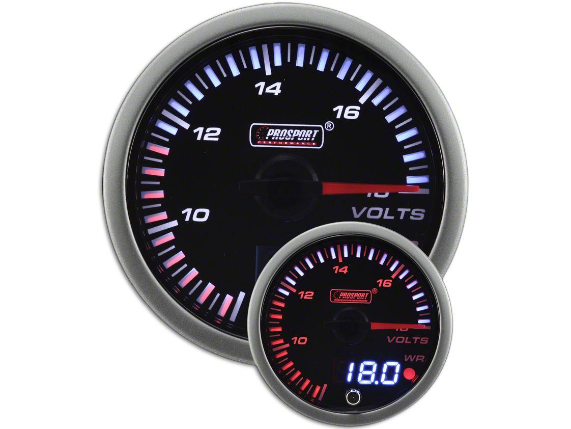 Prosport JDM Volt Gauge - Electrial (02-19 RAM 1500)
