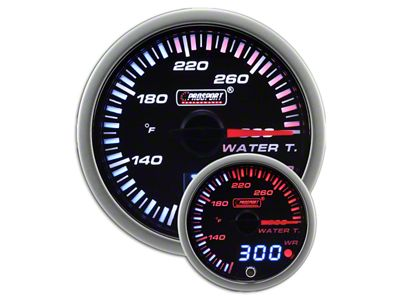 Prosport JDM Water Temperature Gauge - Electrical (02-19 RAM 1500)