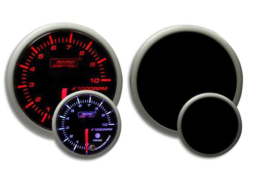 Prosport Dual Color Premium Dual Color Tachometer - Amber/White (02-19 RAM 1500)