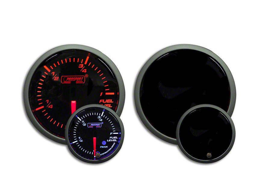 Prosport Dual Color Premium Fuel Level Gauge - Amber/White (02-19 RAM 1500)