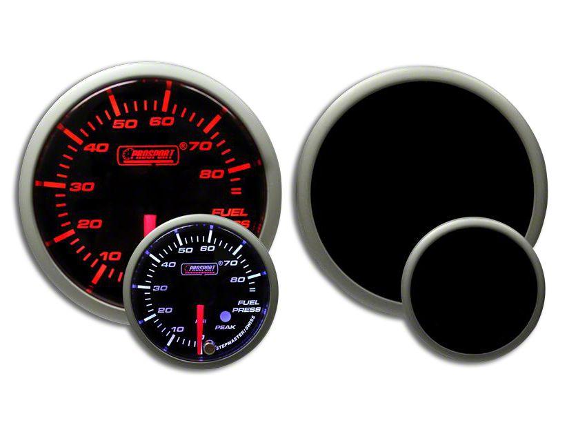 Prosport Dual Color Premium Fuel Pressure Gauge - Amber/White (02-19 RAM 1500)
