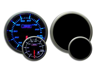 Prosport Dual Color Premium Fuel Pressure Gauge - Blue/White (02-19 RAM 1500)