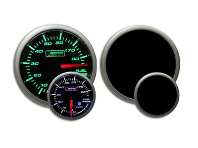 Prosport Dual Color Premium Fuel Pressure Gauge - Green/White (02-19 RAM 1500)