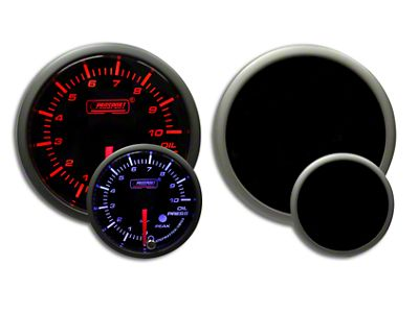 Prosport Dual Color Premium Metric Oil Pressure Gauge - Amber/White (02-19 RAM 1500)