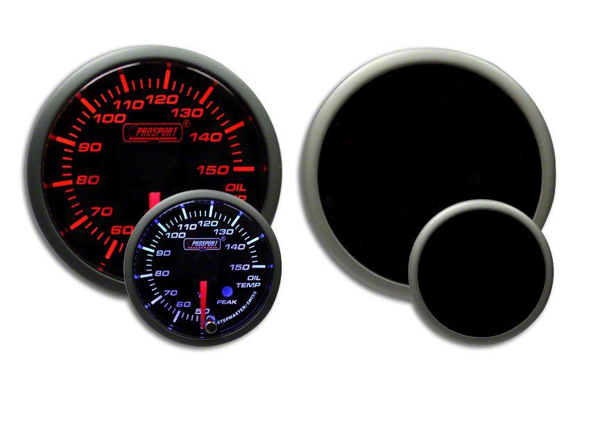 Prosport Dual Color Premium Metric Oil Temperature Gauge - Amber/White (02-19 RAM 1500)