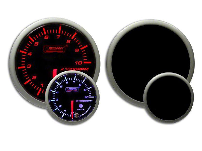 Prosport Dual Color Premium Tachometer - Amber/White (02-19 RAM 1500)
