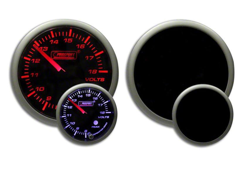Prosport Dual Color Premium Volt Gauge - Amber/White (02-19 RAM 1500)