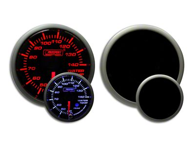 Prosport Dual Color Premium Metric Water Temperature Gauge - Amber/White (02-19 RAM 1500)