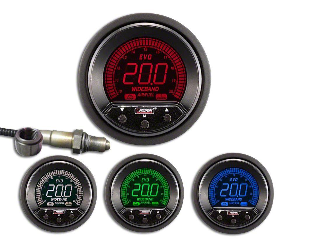 Prosport Premium Evo Digital Wideband Air Fuel Ratio Kit (02-19 RAM 1500)
