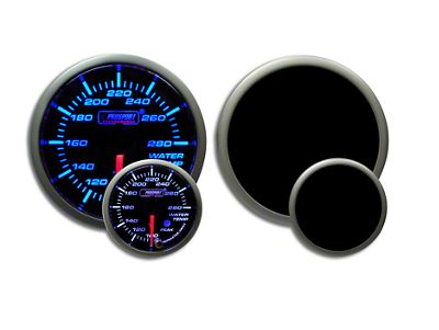 Prosport Premium Water Temperature Gauge - Blue/White (02-19 RAM 1500)