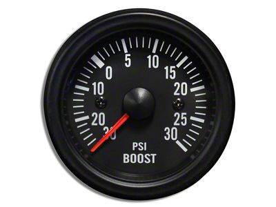 Prosport White LED Boost Gauge - Electrical (02-19 RAM 1500)