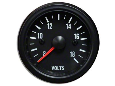 Prosport White LED Volt Gauge - Electrical (02-19 RAM 1500)