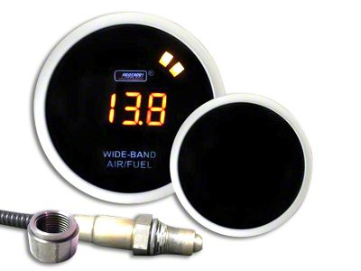 Prosport Digital Wideband Air Fuel Ratio Gauge - Amber (02-19 RAM 1500)