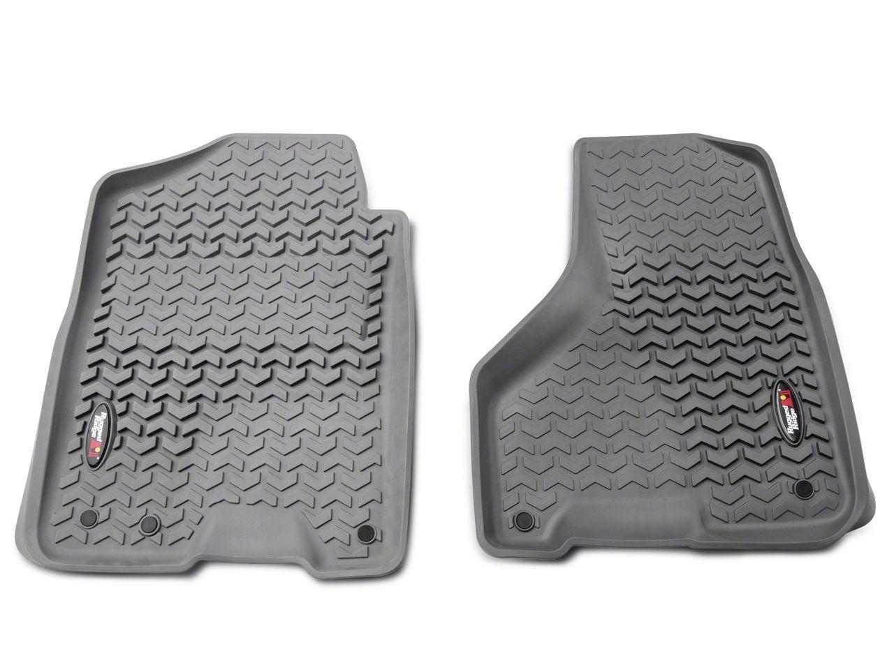 Barricade Front Floor Mats - Gray (12-18 RAM 1500)